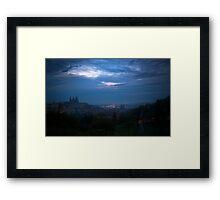 Feathered Sky Framed Print