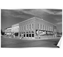 Route 66 - Atlanta, Illinois Poster