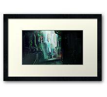 The Digital World Framed Print