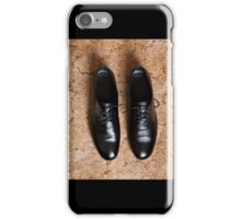 Male dress shoes iPhone Case/Skin
