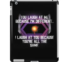 Shockwave (with quote) iPad Case/Skin