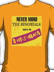 Never Mind The Binomials - Distressed T-Shirt