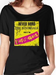 Never Mind The Binomials - Distressed Women's Relaxed Fit T-Shirt