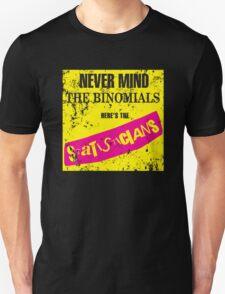 Never Mind The Binomials - Distressed Unisex T-Shirt