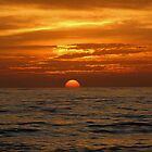 Sunset .Gulf of Mexico. by Irina777