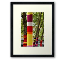 Tree Socks Framed Print