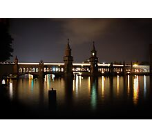 Oberbaum Bridge Photographic Print