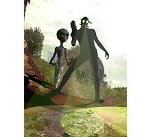 Alien Hunters Photographic Print