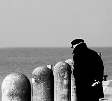 The Old Man and the Sea by giacomarco