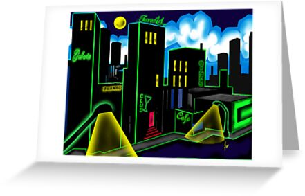 """IntenseCity: Neon Nights"" by Steve Farr"