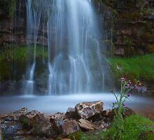 Waterfall, Cray. by Nick Atkin