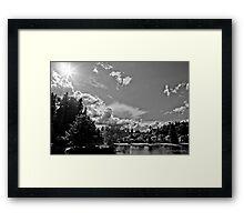 Lake Pleasant RV Park -  Bothell, WA Framed Print
