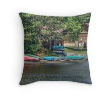 Sweet Signs of Summer Throw Pillow