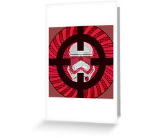 Star Wars Episode VII- TARGET PRACTICE Greeting Card