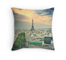 Paris 38 Throw Pillow