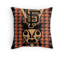 San Francisco Native Giants Throw Pillow