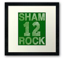 SHAMROCK 12 Irish Framed Print