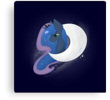 Luna of the Moon Canvas Print