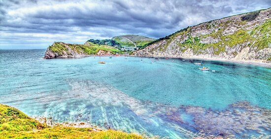 Lulworth Cove - HDR by Colin J Williams Photography
