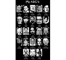 Serial Killer ABC's Photographic Print