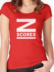 Z-Scores Women's Fitted Scoop T-Shirt