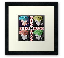 Big Bang, Top Framed Print