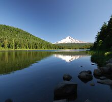 Mt. Hood Reflection by Payne24