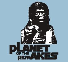 Planet of the Remakes Kids Tee