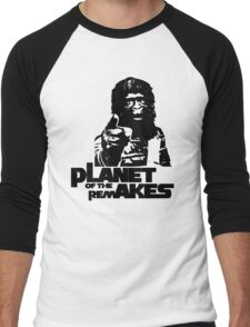 Planet of the Remakes Men's Baseball ¾ T-Shirt