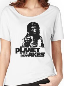 Planet of the Remakes Women's Relaxed Fit T-Shirt