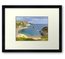 Man O War Bay (Spot the Seagull 2) Framed Print
