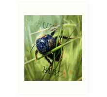 Mr Bumble Art Print