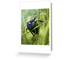 Mr Bumble Greeting Card