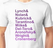Writers and Directors Unisex T-Shirt