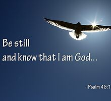 Be Still and Know That I am God by Corri Gryting Gutzman