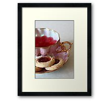 Care to Come to Tea? Framed Print