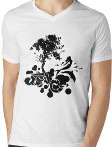 Fantasy nature Mens V-Neck T-Shirt