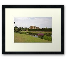 Hever Castle with Topiary at the front Framed Print