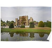 Hever Castle reflection Poster