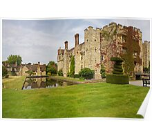 Hever castle and cottages Poster