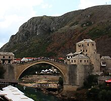 Old Bridge, Mostar by Jonathan Doherty