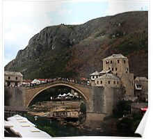 Old Bridge, Mostar Poster