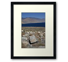 Walker Lake Framed Print