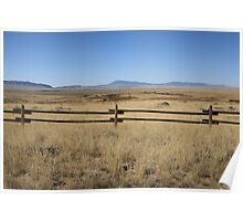 Wyoming Landscape Poster