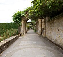 The Italian Gardens in Hever castle. by Keith Larby
