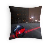 Night Bowling Throw Pillow