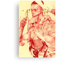 TheTerminator (in red) Canvas Print