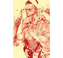 TheTerminator (in red) Photographic Print