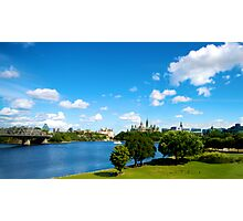 Ottawa Skyline Photographic Print