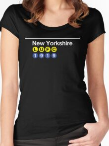 New Yorkshire Women's Fitted Scoop T-Shirt